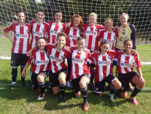 Brentford Ladies squad vs Regents Park Rangers