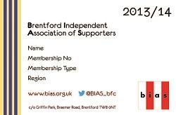 Membership Card 2013/2014