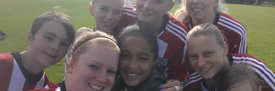 get girls into football week