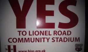 YES to Lionel Road