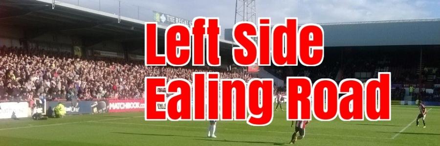 Left Side Ealing Road banner