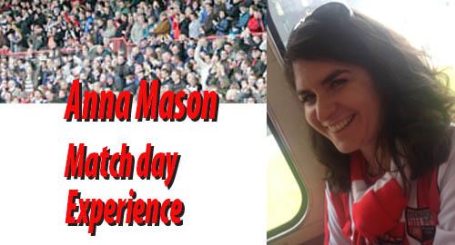 Anna Mason Matchday Experience