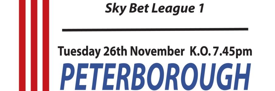 Match Poster, Nov 2013