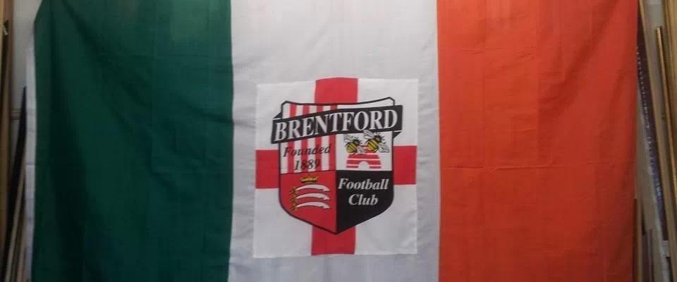 Irish Bees Flag