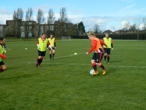 Brentford WFC Training 1