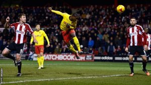 Ighalo scores the winner for Watford