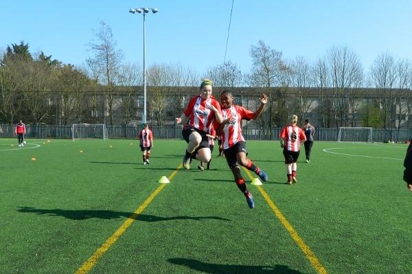 Brentford WFC - Training