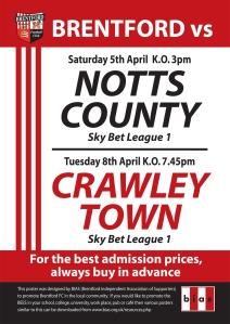 Fixture Poster Picture April 2014