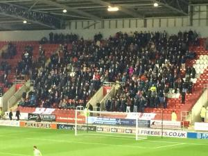 Bees Fans at Rotherham