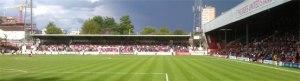 Proposed Aerial view of Lionel Road Stadium