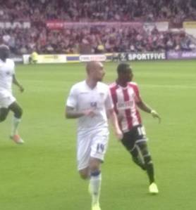Brentford vs Leeds with thanks to John Hirdle