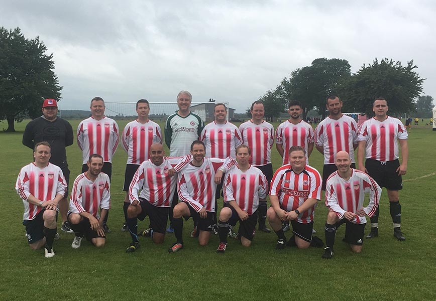 Brentford Vets Team photo